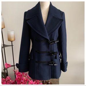 NWT⚜️Burberry Cosford Wool Toggle Coat